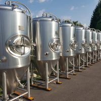 Brewery tanks and accessories